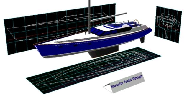 проектирование лодок в автокаде