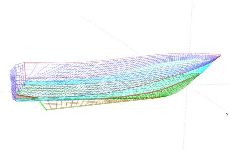 проекты лодок радуга 41