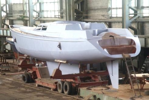 Постройка мегаяхты КА70_4